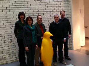 group w penguin 21C Hotel seminar Cincy Mar 2014